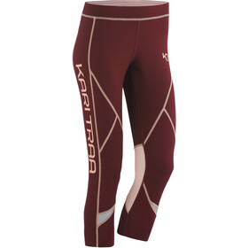 Kari Traa Louise 3/4 Leggings Dames, port
